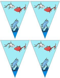 FREE printable Dr.Seuss banners ..... free to use and free to share for personal use only. <3