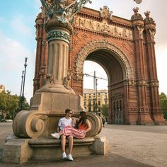 Last Monday we spent the morning sitting by the Arc de Triomf. Barcelona Sights, Visit Barcelona, Barcelona Travel, Barcelona City, Europe Photos, Travel Photos, Travel Ideas, Barcelona Pictures, Madrid Travel