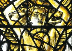 Detail from a stained glass window at the Lowson Memorial Church in Forfar by Douglas Strachan. Picture: Contributed