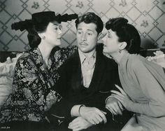 Rosalind Russell, Don Ameche and Kay Francis in The Feminine Touch (1941). Directed by W.S. Van Dyke.