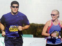 Former Pat Tedy Bruschi gets ready for Marathon Monday!