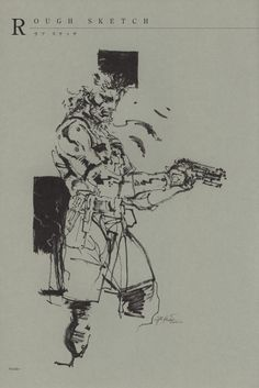 Yoji Shinkawa - The Art of Metal Gear Solid