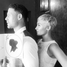 Frankie gave fans a glimpse at her new do in an Instagram picture with husband Wayne last week