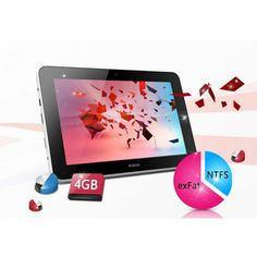 7.0 Inches 5 Point Capacitor IPS HD Display Tablet PC NOVO7 Aurora
