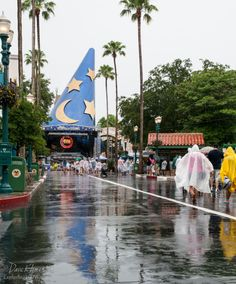 Rainy Days in Walt Disney World - Tips for enjoying your Disney World Vacation despite the rainy season!