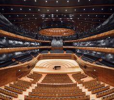 Sala koncerowa NOSPR / NOSPR concert hall photo by Daniel Rumiancew #nospr #Katowice