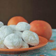 grapefruit meltaway cookies