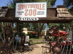 Swetsville Zoo - Timnath, CO Junk Zoo! Incredible! #swetsvillezoo #Timnathco #NorthernCOfun www.nelsonhomesandland.com