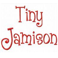 Tiny Monogram set 170 HALF INCH-