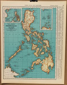 or maybe something with antique maps of the Philippines? okay, maybe I just like maps...