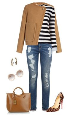 Untitled #3115 by elia72 on Polyvore featuring polyvore, fashion, style, Gucci, See by Chloé, Tommy Hilfiger, Christian Louboutin, Lauren Ralph Lauren, John Hardy, Chloé and clothing #elia72