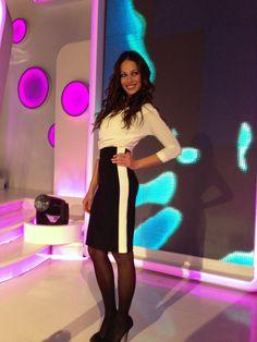 """""""Italian look"""" del blog Las Tentaciones de Eva. Total look de Etxart & Panno , en Se Llama Copla , gala 8 (16/11/2013)"""