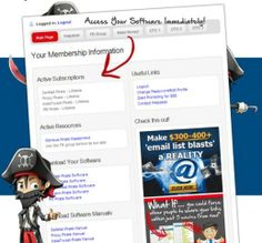 Safelist Pirate – TOP Software Enabling You to Send Out Emails to Tens of Thousands of People and Lucrative Way of Making Money Quickly and easly