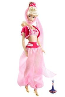Hollywood Dolls - View Hollywood Barbie & Celebrity Dolls | Barbie Collector / I Dream of Jeannie / Barbara Eden