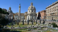 Discover the roman ruins of Rome, Italy! From the Coliseum, to the Parthenon, to the ancient Roman Forum, to Villa dei Quintili and much much more! Ancient Rome, Ancient History, Free Things To Do In Rome, Rome Architecture, Roman Columns, Roman Forum, Roman Art, Parthenon, Rome Travel