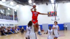 High schooler's dunk puts him on map, opponent on poster