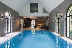 Demooistebinnenzwembaden, exclusief overloop zwembad en sauna