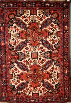 Seichour   Size: 3'7'' x 5'5''    Region: Baku    Made: circa 1900