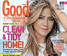The September issue of GH is on sale! The new issue of Good Housekeeping, with the fabulous Jennifer Aniston on the cover, is on sale now! Here's what you can expect to read inside Victoria Falls, Win A Trip, Beautiful Cover, Good Housekeeping, Short Cuts, Skin Problems, Jennifer Aniston, September, Pixie Cuts