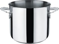Alessi Dressed Stockpot in 18/10 Stainless Steel Mirror Polished Magnetic Steel Bottom Suitable for Induction Cooking - http://cookware.everythingreviews.net/9080/alessi-dressed-stockpot-in-1810-stainless-steel-mirror-polished-magnetic-steel-bottom-suitable-for-induction-cooking.html