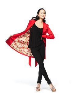 #FashionStar Episode 9: Kara Laricks's Lightweight Twill Trench Coat for Macy's -- Love it!