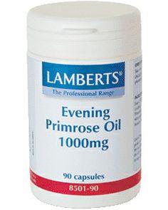 Aceite de Primula de Lamberts, aceite de onagra con una concentracion de 1000 mg