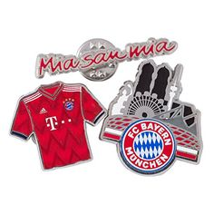 FC Bayern München Pin 3er Set Football Fans, Invitations, Gifts, Boutique, Ideas, Hobbies, Fc Bayern Munich, Presents, Save The Date Invitations