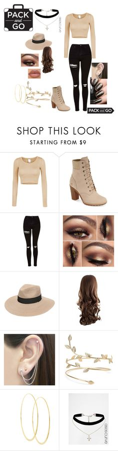 """""""Mexico"""" by felicityskerrett on Polyvore featuring LE3NO, Timberland, Topshop, Gottex, Otis Jaxon, Lana, ASOS, TrickyTrend, casualoutfit and celebstyle"""