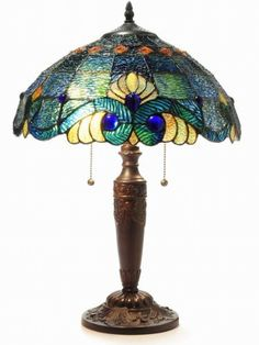 Tiffany Style Blue Vintage Table Lamp, http://www.amazon.com/dp/B008J2ACY0/ref=cm_sw_r_pi_awdm_usv7vb00S2R9K