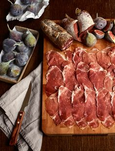 Home cured meats - divine    Idha Lindhag - Photographer