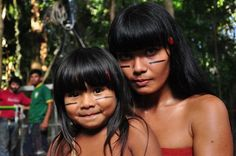Índias indígena brasileira brasil #brazil mãe e filha
