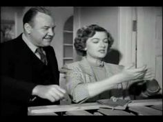 """Funny Scene from  """"Mr. Blandings Builds His Dream House"""" 1948, starring Cary Grant, Myrna Loy and Melvyn Douglas"""
