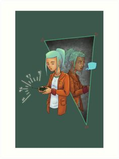 Fanart inspired by the videogame OxenFree