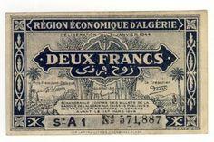 Algeria 2 Francs - Law of 1949 XF