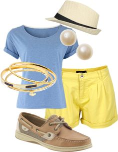 """On the Yacht"" by lmcialde-1 on Polyvore"