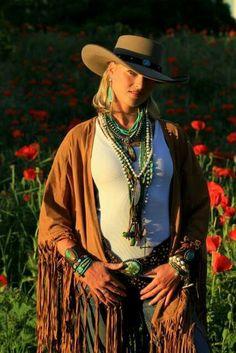 Layering Love Tokens Jewelry   Brit West Cowgirl Fashion c36ecb485cdb