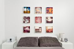 Inspiration for kitchen wall using my Instagram photos. http:/www.canvaspop.com brings to your world of photos.