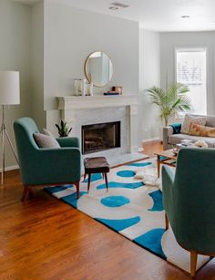 House Tour: A Chicago Couple's Bright, Eclectic Condo | Apartment Therapy