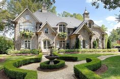 Old World Exterior - 15807GE | Architectural Designs - House Plans I LOVE THIS FLOOR PLAN!!!!! AL