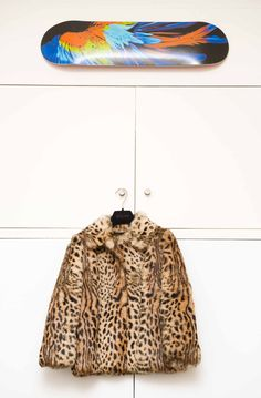 Just a little leopard. www.thecoveteur.com/aurelie_bidermann