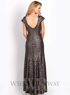 Emmaline Sequin Dress. Stunning full length sequinned dress, perfect for bridesmaids and mother of the brides. A beautiful head turning dress with slight stretch for a very easy fit. Available in Charcoal.