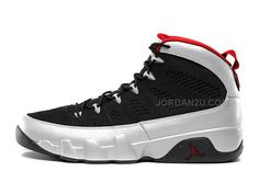 "size 40 420ba 7c9bb Air Jordan 9 Retro ""Johnny Kilroy"" Black Metallic Platinum-Gym Red For Sale"