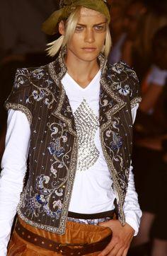 John Galliano for Christian Dior Fall Winter 2001 Haute Couture