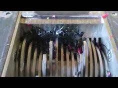 davehakkens — Plastic Shredder prototype test run [eco-disaster]