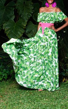 { Lime Santo Domingo Dress by Isolda }