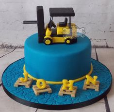 Forklift by kerrycakesnewcastle