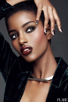 This hub gives Black/African women ideas on the right lipstick colors for dark skin based on warm and cool skin tones. Description from pinterest.com. I searched for this on bing.com/images