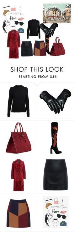 """""""What?"""" by blankakvas on Polyvore featuring Mansur Gavriel, Jeffrey Campbell, Joseph, McQ by Alexander McQueen and La Marque"""