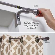 Product: 1942-1 Twist & Shout Curtain Rod