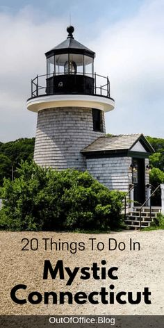 20 things to do while visiting Mystic Connecticut: famous pizza, Beluga Whales, a living history museum, movable bridges, cider donuts and lobster rolls. Usa Travel Guide, Travel Usa, Travel Guides, Beach Travel, Budget Travel, Travel Tips, Oregon Travel, Cool Places To Visit, Places To Travel